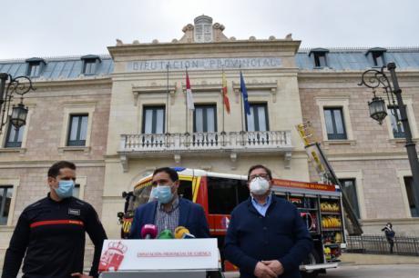 Los bomberos de la Diputación ratifican el convenio que abre la puerta a ser funcionarios