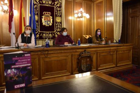 La Diputación y CCOO diseñan una guía para que los ayuntamientos puedan desarrollar sus planes de igualdad