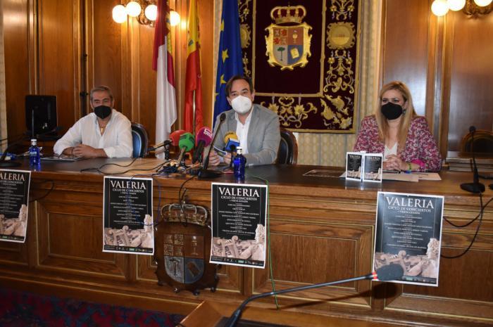 Junta y Diputación resaltan su apuesta por la Cultura y los Yacimientos con su apoyo al Ciclo de Conciertos de Valeria