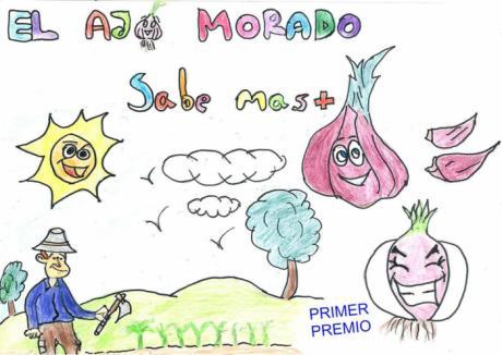 La IGP Ajo Morado de Las Pedroñeras falla los premios del VII Concurso de dibujo infantil celebrado durante el confinamiento