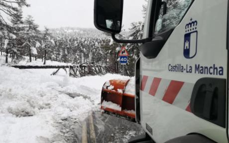 Activado el Protocolo de Vialidad invernal que se extiende por los 8.700 kilómetros de la red regional