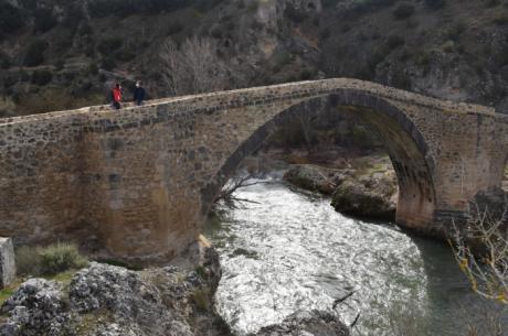 Se lleva a cabo la reconstrucción del puente del Castellar con una inversión de 120.000 euros