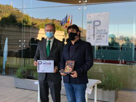 Paco Auñón y Ariadna Burgos ganadores de los V Premios de Periodismo Local