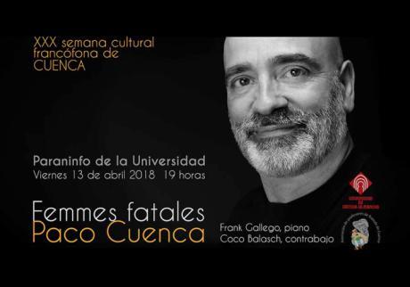 """Concierto de """"Femmes fatales"""" en la Semana Cultural Francófona"""
