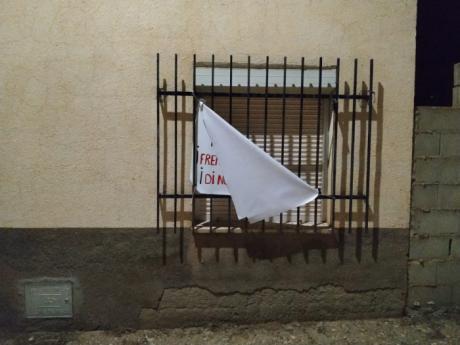 """Actos vandálicos en Villar de Domingo García contra la asociación """"Pueblos Vivos Cuenca"""""""