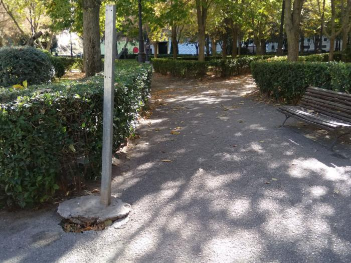 """El Grupo Municipal Socialista denuncia el estado de """"abandono y dejadez"""" del Parque del Huécar"""