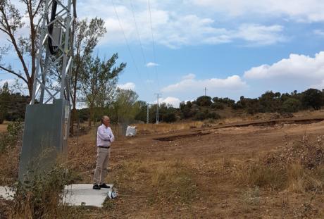 Concluyen los trabajos de electrificación del yacimiento de la Villa Romana de Noheda