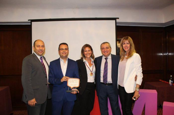 Pedro Martínez se alza con el premio 'Persona Impulsora del Cambio' del Instituto de Gestión del Cambio, Marketing y Management