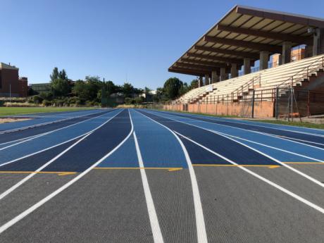 Los clubs de atletismo ya pueden solicitar cita previa para usar la nueva pista del Luis Ocaña