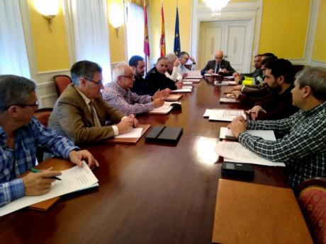 El subdelegado del Gobierno en Cuenca presenta el Plan de Vialidad Invernal 2018/19