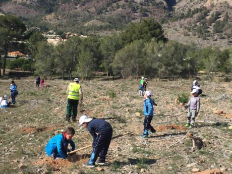 En marcha el mes de la Educación Medio Ambiental en Enguídanos