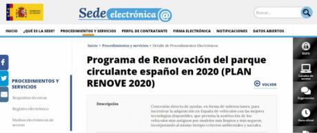 CEOE CEPYME Cuenca anuncia a sus empresas que ya está activada la plataforma para el Plan Renove