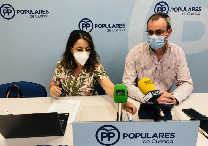 """El PP califica los dos años de Martínez Chana en la Diputación de """"apáticos"""" y le pide realidades y prosperidad en vez de """"tanto sectarismo"""""""