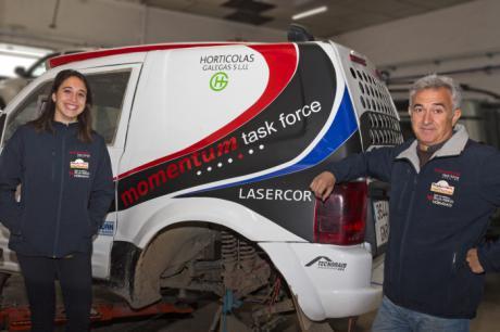 Manuel y Mónica Plaza disputan este fin de semana la primera prueba del Nacional de Rallyes TT