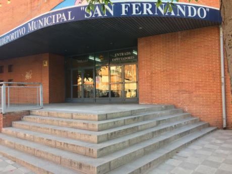 El Polideportivo Municipal San Fernando dispondrá de un nuevo marcador electrónico con tecnología led