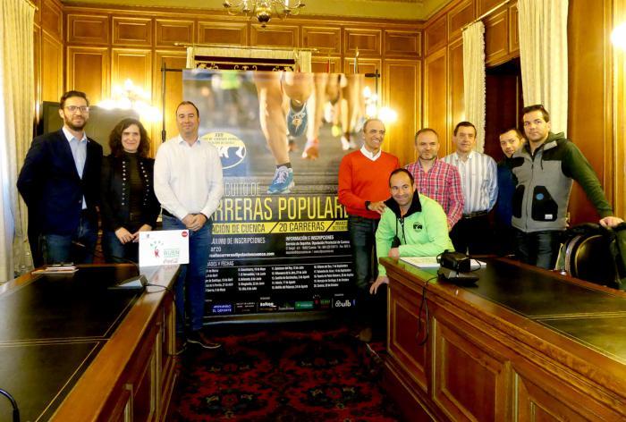 El Circuito de Carreras Populares afronta su XVII edición con la incorporación de Castillo de Garcimuñoz y Fuente de Pedro Naharro