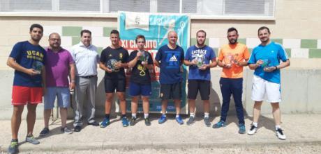 Huete cerró la Zona 1 del XI Circuito de Frontenis Diputación de Cuenca con la participación de 7 parejas