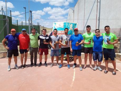 Valera de Abajo y Las Pedroñeras acogieron las últimas pruebas del XI Circuito de Frontenis Diputación de Cuenca