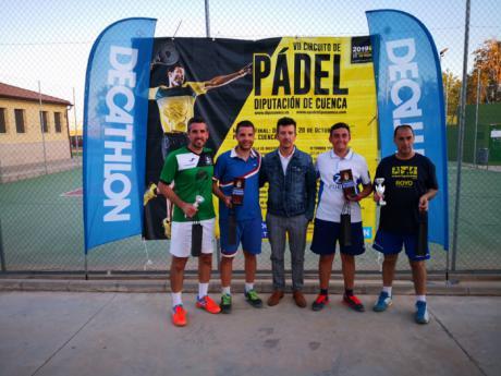 Jorge Noheda y Dani Huerta se hacen con el V Torneo de Pádel Villa de Villamayor de Santiago