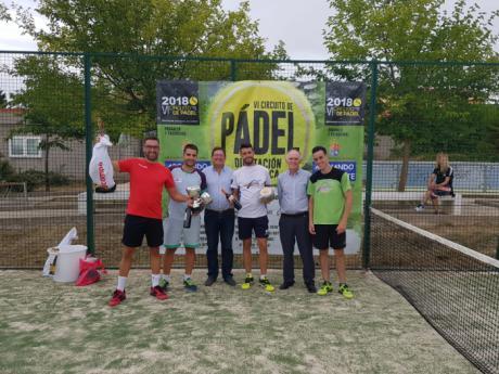 Arcas acogió la décima prueba del VI Circuito de Pádel Diputación de Cuenca con participación de 10 parejas
