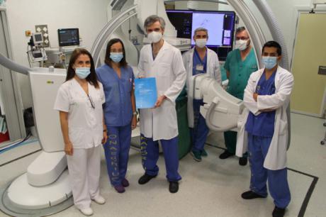 Profesionales del Hospital de Toledo, premiados con el máximo galardón en el congreso de la Sociedad Europea de Radiología Intervencionista