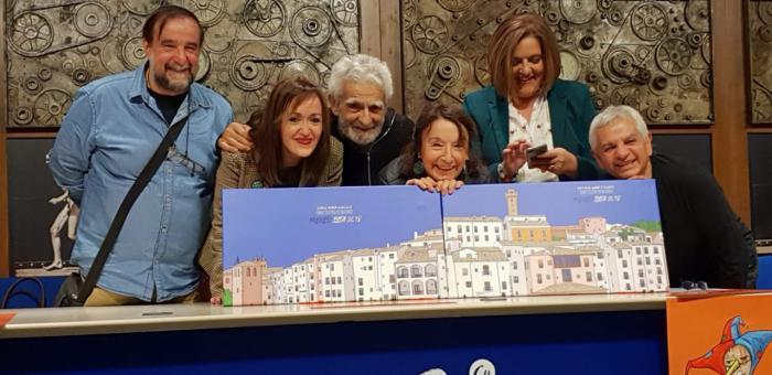 Petra Martínez y Juan Margallo premiados en BITA 2018