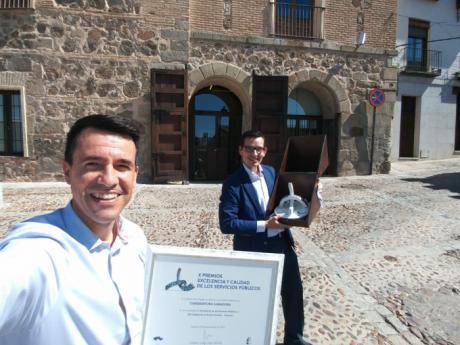 El IES Cañada de la Encina de Iniesta, premio a la excelencia y a la calidad en la prestación de servicios públicos