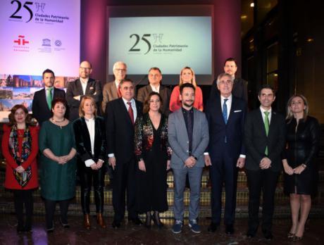 Mariscal asiste a la presentación del programa de actividades para celebrar el 25 aniversario del Grupo de Ciudades Patrimonio de la Humanidad