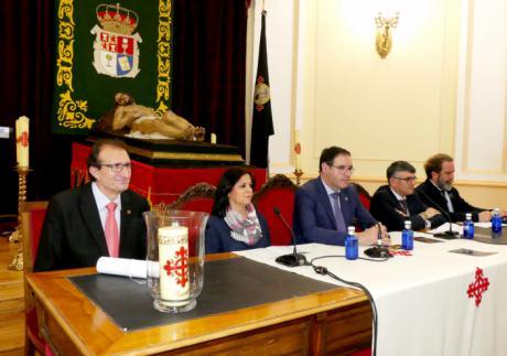 Diputación se convierte en centro neurálgico del 75 Aniversario de la Venida del Cristo Yacente a Cuenca