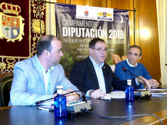 Diputación oferta un año más 354 plazas en sus Campamentos de Verano para jóvenes de 6 a 15 años