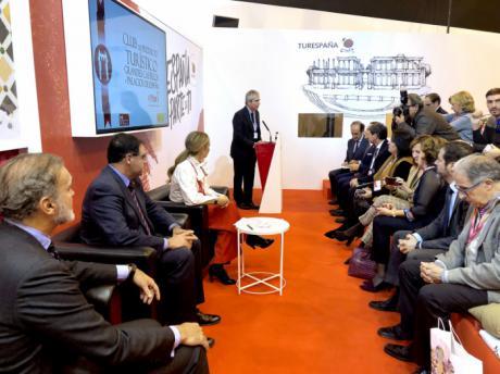 FITUR 2018  Diputación está rehabilitando una docena de castillos y construcciones fortificadas de la provincia