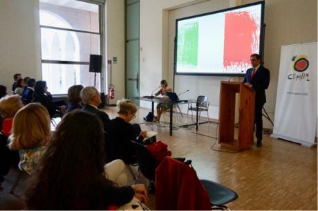 Ángel Mariscal presenta en Milán la oferta turística y cultural de las Ciudades Patrimonio