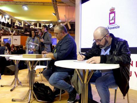 FITUR 2018   El Provencio se reivindica en Fitur como todo un destino turístico para los amantes del cómic y el arte urbano
