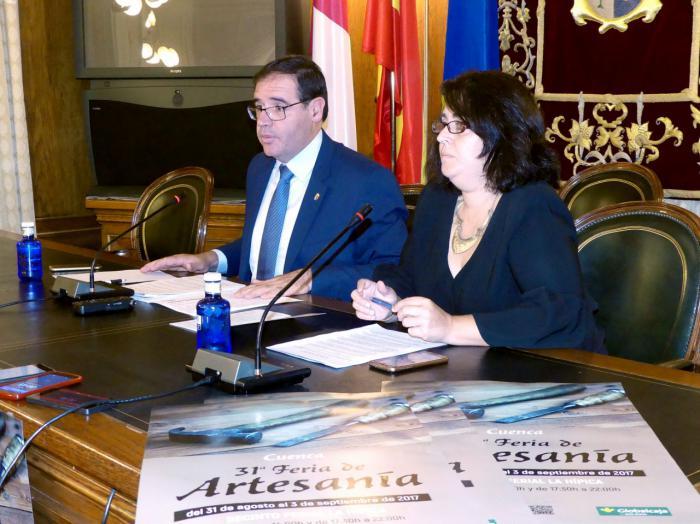 La 31ª Feria de Artesanía de Cuenca reunirá a 86 expositores procedentes de 13 comunidades autónomas