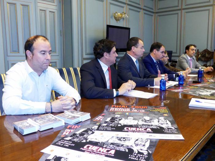 Todo preparado para que Cuenca albergue el 17 y 18 de mayo el mejor baloncesto en silla de ruedas de Europa