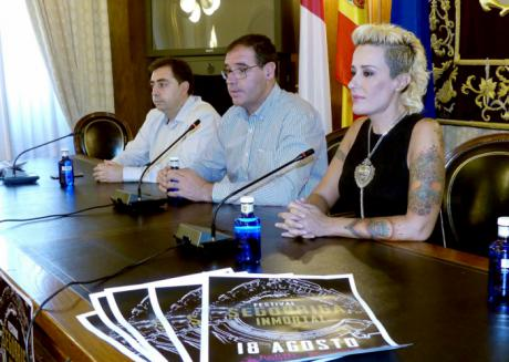 Judith Mateo y Burning compartirán escenario en el I Festival Segóbriga Inmortal