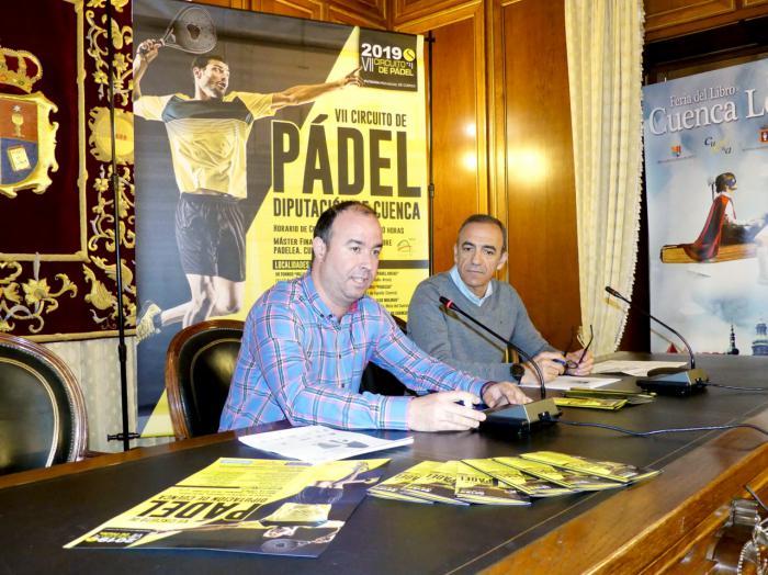 El VII Circuito de Pádel Diputación de Cuenca 2019 incorpora por primera vez la categoría mixta