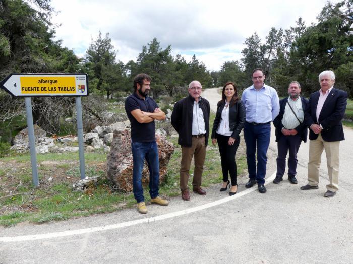 520.000 euros para mejorar los caminos de Beamud-Fuente de las Tablas y Buenache de la Sierra-Valdecabras
