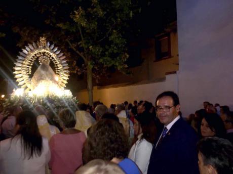 Prieto vive con los belmonteños las Fiestas del Ofrecimiento a la Patrona, la Virgen de Gracia