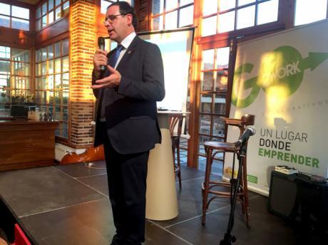 Prieto recuerda a los emprendedores que tienen una aliada en la Diputación Provincial