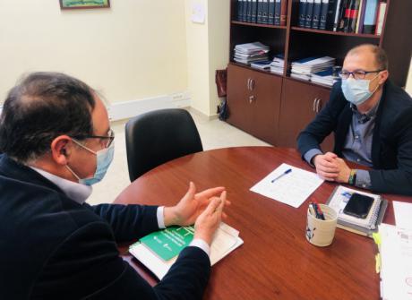 Prieto respalda la práctica del deporte y pide a las administraciones que atiendan las necesidades de clubes y asociaciones