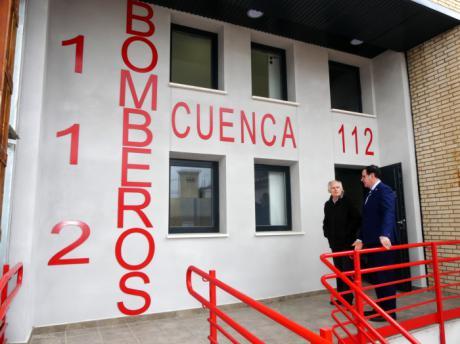 Los bomberos de la Diputación pedirán medidas cautelares que paralicen el 'parque auxiliar' de Benjamín Prieto en la capital