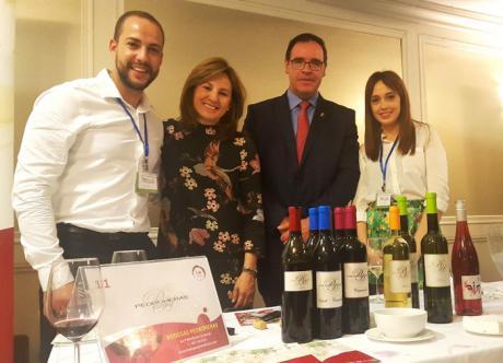 Prieto ve en nuestros vinos unos grandes embajadores para reivindicar el potencial agroalimentario de nuestra provincia