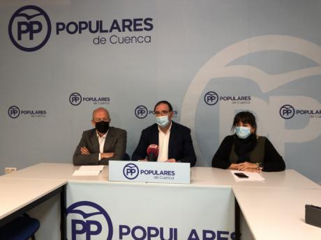 """El PP tacha los Presupuestos Generales del Estado de """"insignificantes"""" para la provincia de Cuenca y de no destinar fondos a la lucha contra la despoblación ni a infraestructuras"""