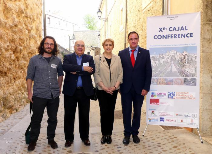 Investigadores en neurociencia analizan en Cuenca cómo acortar el tiempo de aplicación de un descubrimiento en la sociedad