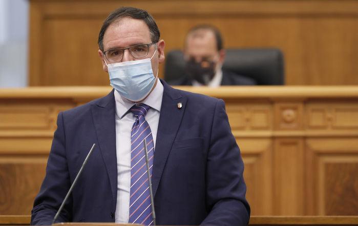 Intervención de Benjamín Prieto en las Cortes