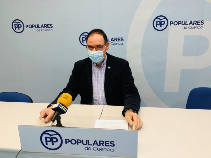 Benjamín Prieto, presidente del Partido Popular de Cuenca