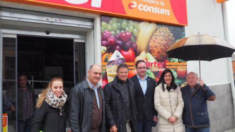 Catalá comprueba cómo con la ayuda de las administraciones se puede dinamizar y vertebrar la provincia