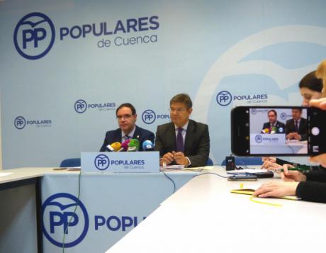 """Rafael Catalá: """"Presentamos un programa electoral que es un auténtico compromiso del Partido Popular con los españoles"""""""