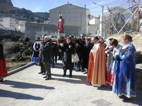 Enguídanos celebra las tradicionales fiestas de San Blas